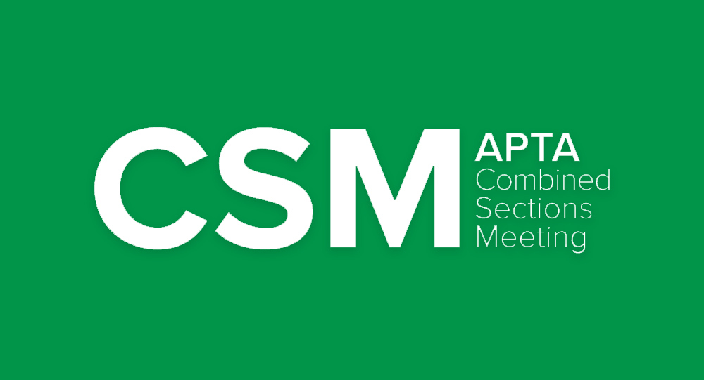 Combined Sections Meeting (CSM) logo